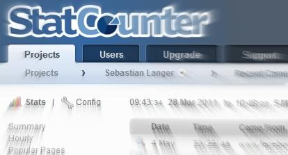 Neues Design für beliebtes Statistik-Tool Statcounter