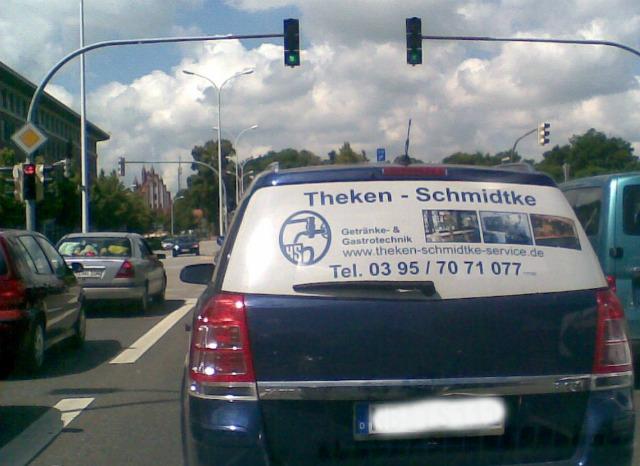 gesehen 2011 in Neubrandenburg